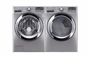 LG Stackable Steam-Washer & Dryer Sale!  $1599/Set! Warranty Included!