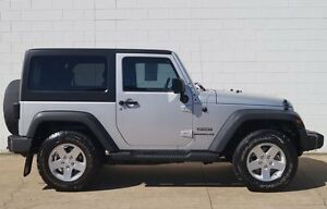 2011 Jeep Wrangler JK MY2011 Sport Silver 6 Speed Manual Softtop Bundaberg Central Bundaberg City Preview