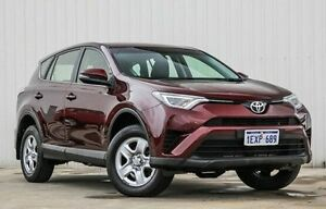 2015 Toyota RAV4 ASA44R GX AWD Red 6 Speed Sports Automatic Wagon Willetton Canning Area Preview