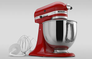 Brand new red kitchen aid stand mixer still in the box