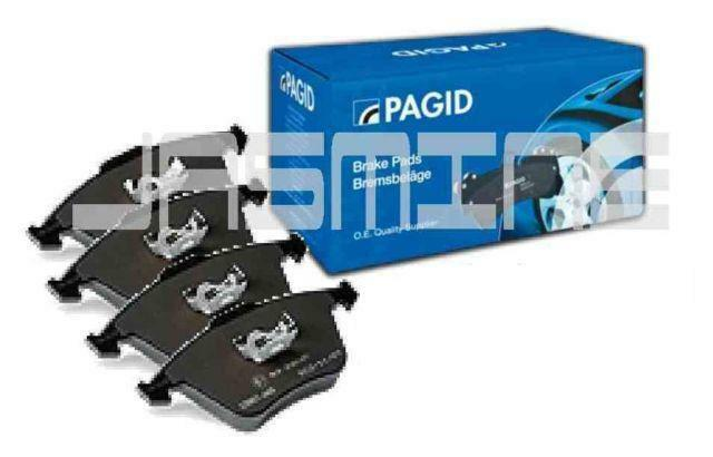 SET OEM PAGID PORSCHE 996 TURBO C4S REAR BRAKE PADS - NEW