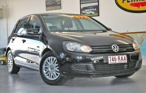 2009 Volkswagen Golf VI MY10 90TSI DSG Trendline Black 7 Speed Sports Automatic Dual Clutch Wynnum Brisbane South East Preview