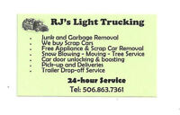 24/7 LIGHT TRUCKING+JUNK&GARBAGE REMOVAL.FREE QUOTES