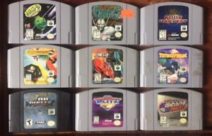 Awesome N64 games - puzzle, adventure, sports, etc