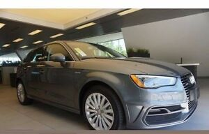 2016 Audi A3 e-tron hybrid lease transfer - Low kms/$5K cash!