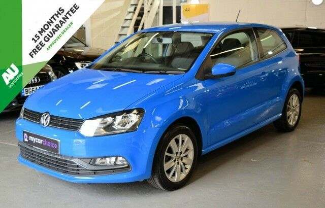 volkswagen polo 1 4 se tdi bluemotion 3dr mayan blue 2014 in halifax west yorkshire gumtree. Black Bedroom Furniture Sets. Home Design Ideas