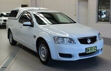 2011 Holden Commodore VE II Omega White 6 Speed Automatic Utility Condell Park Bankstown Area Preview