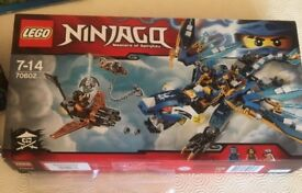 Lego ninjago blue dragon bnib