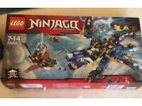Lego ninjago blue dragon bnib