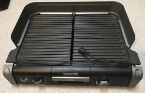 Emeril by T-fal TG8000XL Griller with 2 Independent Controls