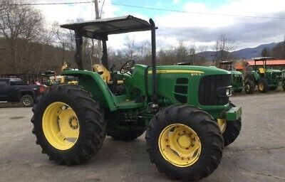 2012 John Deere 6115D 4WD Tractor