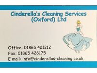 Part Time Cleaner & Self Employed Cleaners Wanted