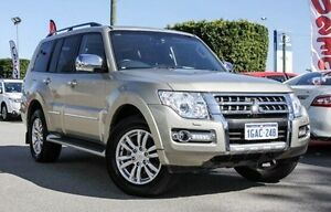 2015 Mitsubishi Pajero NX MY15 Exceed Gold 5 Speed Sports Automatic Wagon Embleton Bayswater Area Preview