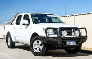 2011 Nissan Navara D40 ST White 5 Speed Automatic Utility Pearsall Wanneroo Area Preview