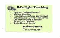 24/7 JUNK&GARBAGE REMOVAL.FREE SCRAP METAL PICK UP