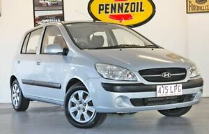 2009 Hyundai Getz TB MY09 S Silver 5 Speed Manual Hatchback Wynnum Brisbane South East Preview