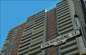 Sherbourne and Bloor : 565 Sherbourne Street , 1BR