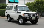 2015 Toyota Landcruiser VDJ78R GXL Troopcarrier French Vanilla 5 Speed Manual Wagon Acacia Ridge Brisbane South West Preview