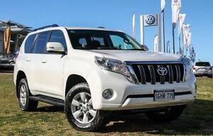 2015 Toyota Landcruiser Prado KDJ150R MY14 GXL White 5 Speed Sports Automatic Wagon Wangara Wanneroo Area Preview