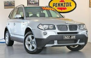 2006 BMW X3 E83 (No Badge) Silver Sports Automatic Wynnum Brisbane South East Preview