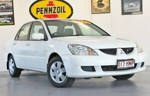 2003 Mitsubishi Lancer CH LS White 4 Speed Automatic Sedan Wynnum Brisbane South East Preview