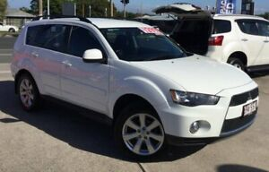 2012 Mitsubishi Outlander ZH MY12 Activ White 6 Speed Constant Variable Wagon Currimundi Caloundra Area Preview