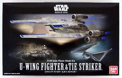 Bandai Star Wars U-Wing Fighter & Tie Striker 1/144 scale kit 121848 USA Seller