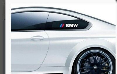 2x BMW M Power Windows Windshield Decals Cars Stickers Banners