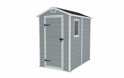 Keter Manor 4ft x 6ft Apex Plastic Shed