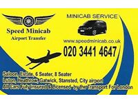 Minicab Airport Transfer Specialist ( Edgware,Burntoak,Harrow,Stanmore,Millhiil,Colindale