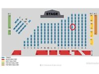 WORLD MATCHPLAY DARTS TICKETS X 3 SUNDAY EVENING SESSION TABLE SEATS LESS THAN FACE VALUE