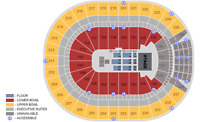 Two Bruno Mars tickets for $100