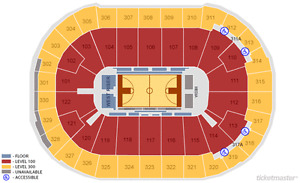 (OCT 1) Golden State Warriors vs Toronto Raptors (SEC 330, ROW