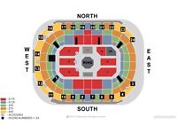 UFC Belfast, 2 x Lower North tier £320