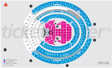 Taylor Swift Perth Big Reputation VIP Ticket x 1