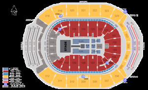 Eric Church Sat March 9  Scotiabank Arena 6 Tickets