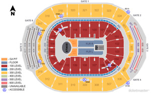 Harry Styles Toronto 2 tickets section 110 near stage below cost
