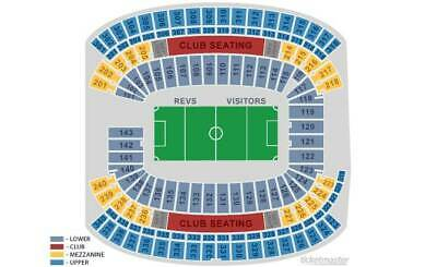9/12 *SIDELINE ROW 2* NEW ENGLAND REVOLUTION 2 tickets Revs Philadelphia Union