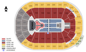 John Mayer Tickets- Floor and Row 5- Up to 4 available