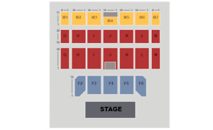 2 Russell Peters Tickets Casino Rama Floor Seats Saturday Show