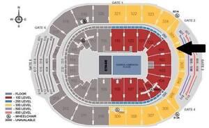 John Mayer Concert - Section 103, Row 6
