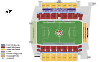 Tickets for Canada -Germany soccer match tomorrow, June 10, 2018