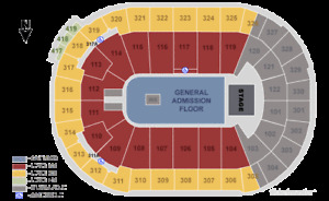Foo Fighters GA Floor Tickets