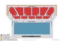 1-6 The Gaslight Anthem Tickets Block 8 Row D Tickets Saturday 21st July LONDON Apollo FACE VALUE