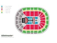 2 x The Vamps Tickets - Manchester Arena - Saturday 6 May 2017 - Block 113 - Excellent Seats