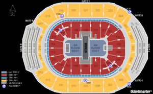 MUMFORD AND SONS - 2 TICKETS - BEST LOWER LEVEL SECTION