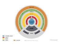 Ed Sheeran - Royal Albert Hall - 2 Choir Seated Tickets Tues 28th March