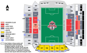 2 Tickets To Toronto FC vs. Seattle Sounders MLS Cup Final