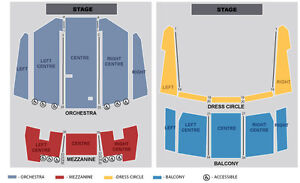Alice Cooper Tickets (SEC ORCHESTRA LC, ROW 3) 3RD ROW!!