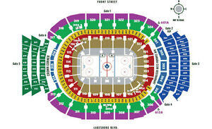 Toronto Maple Leafs Gold Personal Seat License